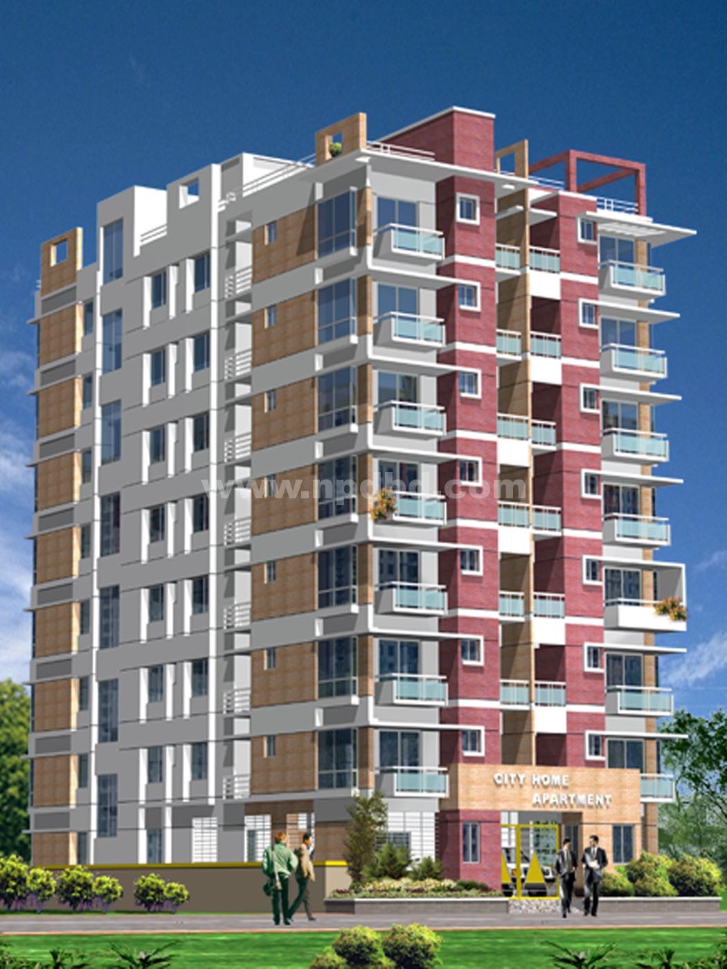 Project: City Home Apartment - Mirabazar, Sylhet » Next Plan ...